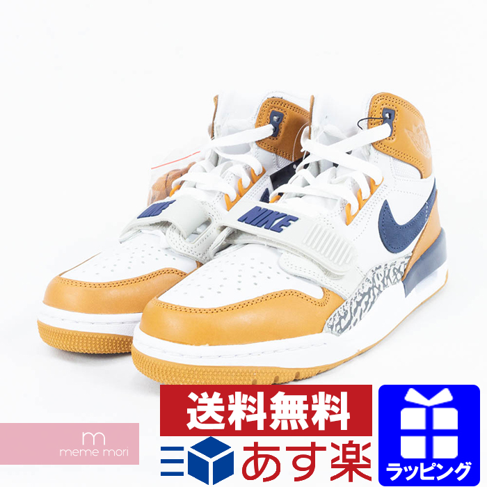 58e923609ffe NIKE AIR JORDAN LEGACY 312 NRG AQ4160 140 JUST DON Nike Air Jordan Legacy  312 just Don higher frequency elimination sneakers white X brown size  US8(26cm) ...