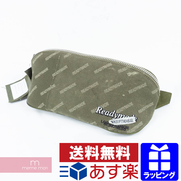 READY MADE 2018AW Waist Bag RE-CO-KH-00-00-53 レディメイド ウエストバッグ ポーチ ボディバッグ 総柄 カーキ プレゼント ギフト【190327】