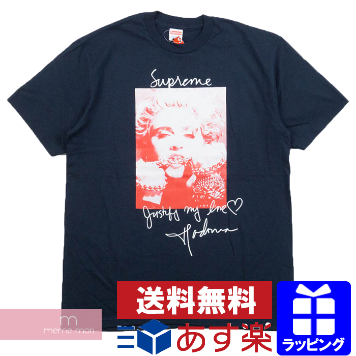Supreme 2018AW Madonna Tee シュプリーム マドンナプリントTシャツ ネイビー
