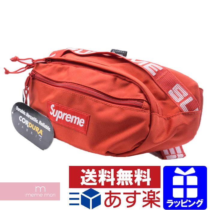 Supreme 2018SS Waist Bag シュプリーム ウエストバッグ ボディバッグ ポーチ レッド プレゼント ギフト【200206】【新古品】