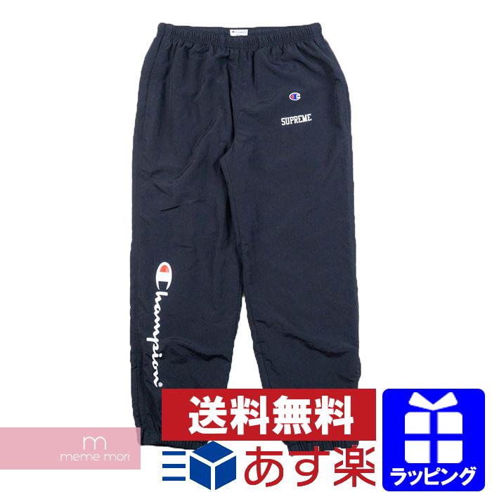 Supreme×Champion 2018SS Track Pants シュプリーム×チャンピオン トラックパンツ ブラック サイズM