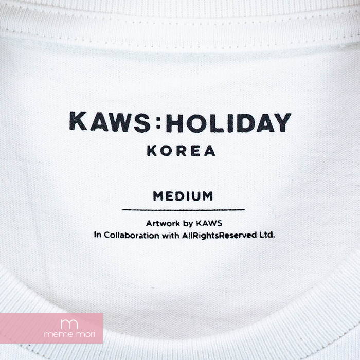 502c1647f KAWS 2018SS Holiday Companion Tee cows holiday companion T-shirt short  sleeves white size M present gift