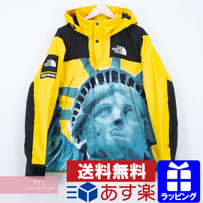 Supreme X The North Face 2019aw Statue Of Liberty Mountain Jacket シュプリーム X North Face Statue Of Liberty Mountain Parka Jacket Statue Of Liberty Yellow