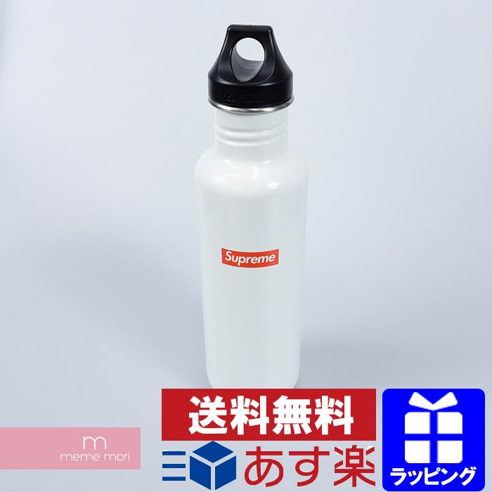 Supreme×Klean Kanteen 2016SS Classic Bottle シュプリーム×クリーンカンティーン クラシックボトル 水筒 ロゴ ホワイト【191107】【新古品】