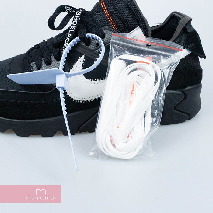 OFF WHITE X NIKE THE 10 AIR MAX 90 AA7293 001 off white X