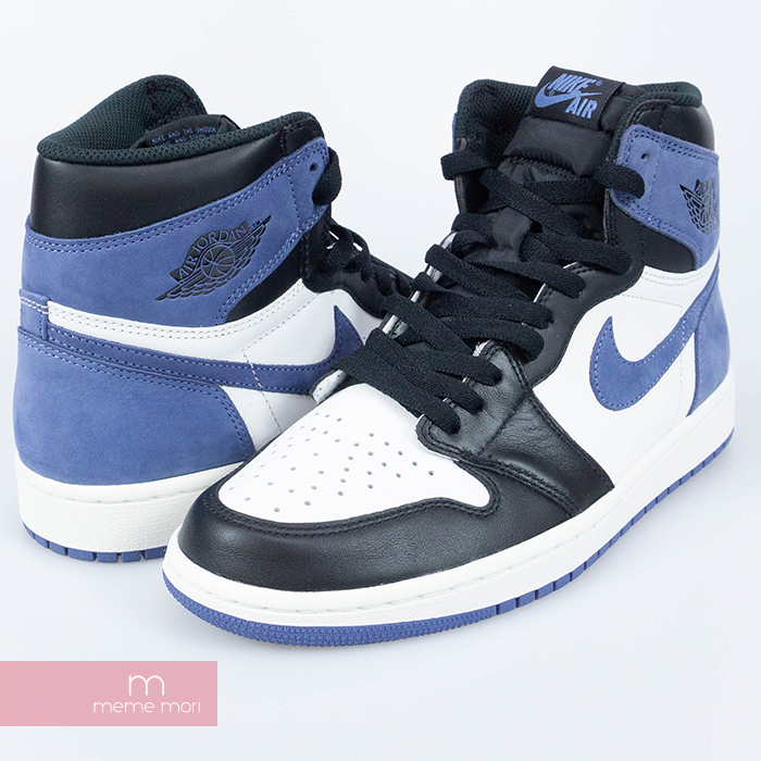 Used Select Shop Meme Mori Nike 2018aw Air Jordan 1 Retro High Og All Star Appearances Blue Moon 555 088 115 Nike Air Jordan 1 Nostalgic All Star Appearance Higher Frequency Elimination Sneakers Foreign Countries Limitation Blue