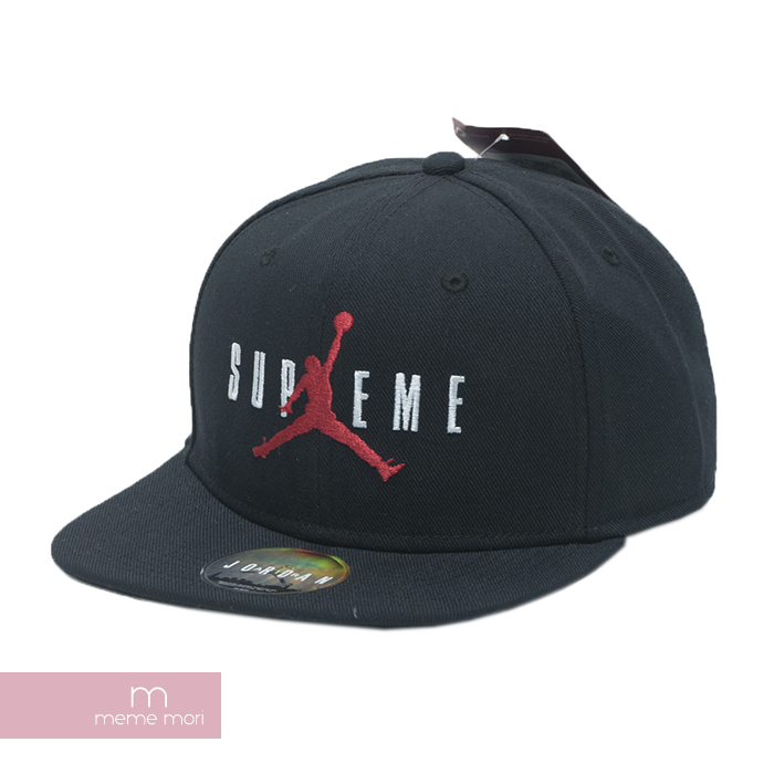 Supreme X JORDAN 2015AW 6-panel Cap Black シュプリーム X Jordan 6 panel cap black c0fd6f309