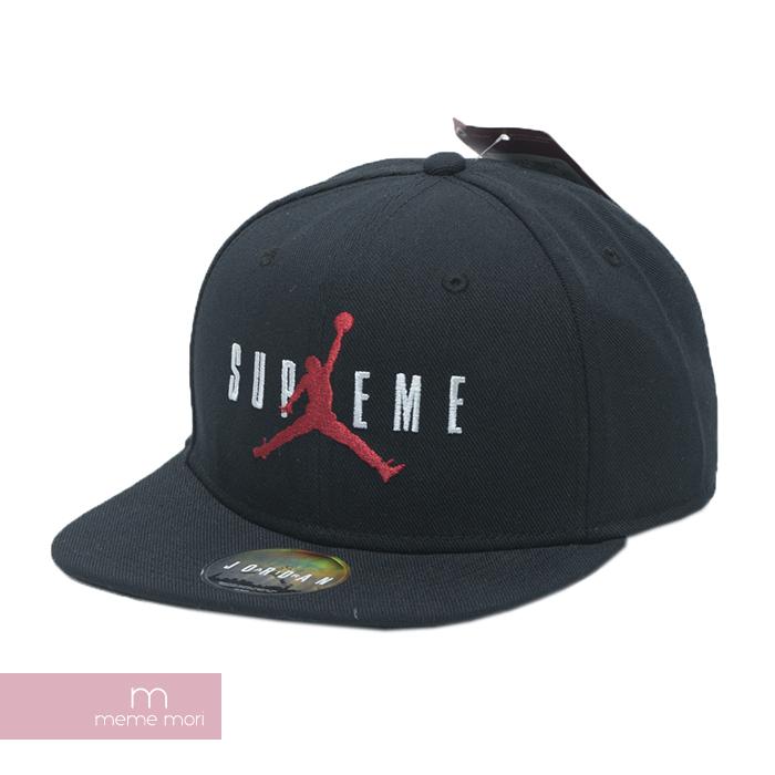 Supreme X JORDAN 2015AW 6-panel Cap Black シュプリーム X Jordan 6 panel cap black a2642713c62