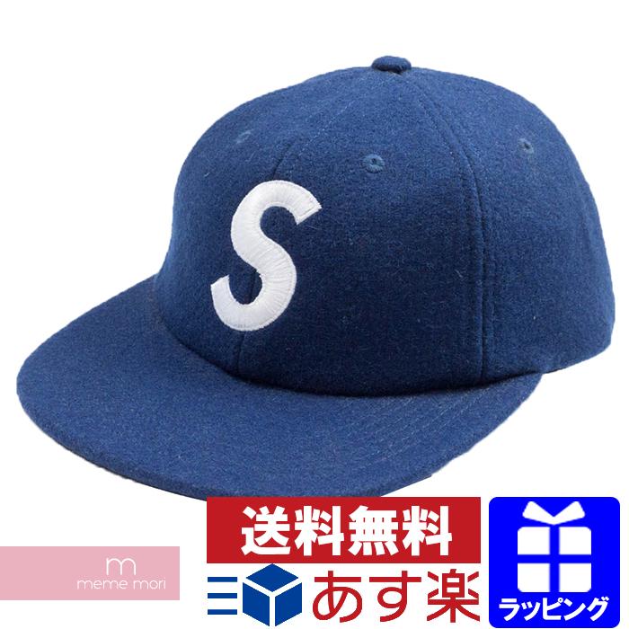 9ef4a3cc145 USED SELECT SHOP meme mori  Supreme 2017AW Wool S Logo 6-Panel Cap ...