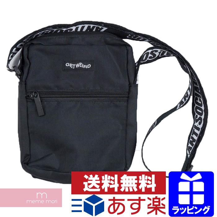 ca270098815d Anti Social Social Club ASSC 2018AW Shoulder Bag antisocial social club  shoulder bag porch black