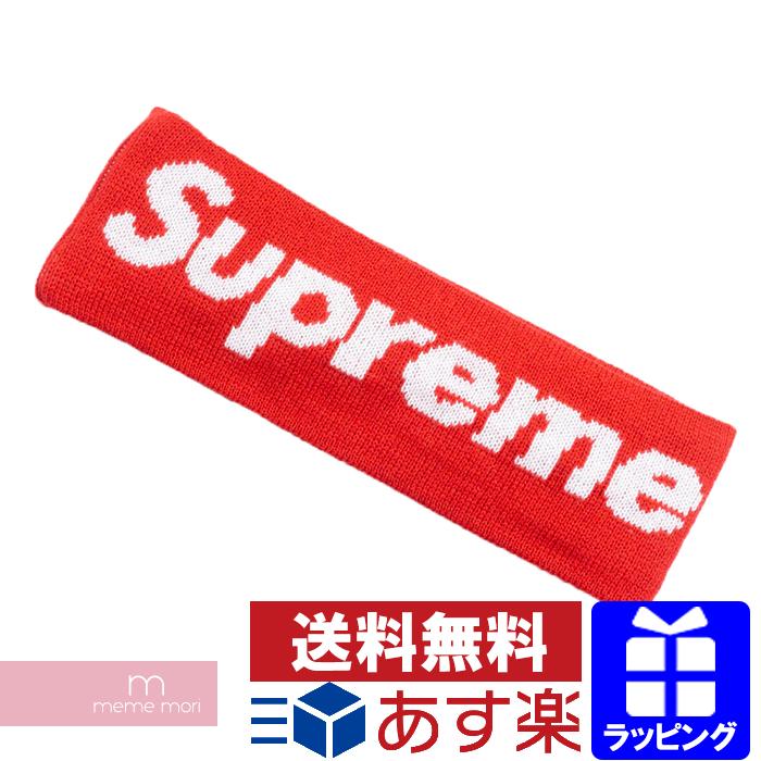 Supreme×New Era 2018AW Big Logo Headband シュプリーム×ニューエラ ビッグロゴヘッドバンド ヘアバンド レッド プレゼント ギフト【191129】【新古品】