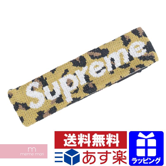Supreme×New Era 2018AW Big Logo Headband シュプリーム×ニューエラ ビッグロゴヘッドバンド ヘアバンド レオパード プレゼント ギフト【190719】【新古品】