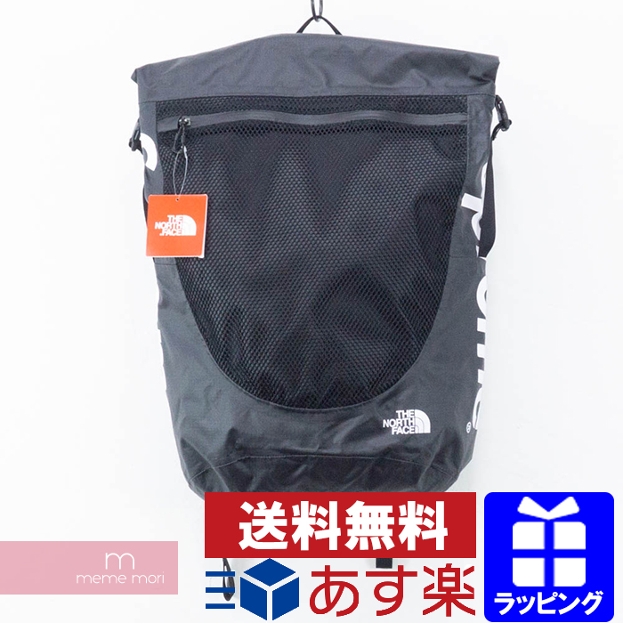 Supreme×THE NORTH FACE 2017SS Waterproof Backpack シュプリーム×ザノースフェイス ウォータープルーフバックパック リュック ブラック サイズ34L プレゼント ギフト【200513】【新古品】