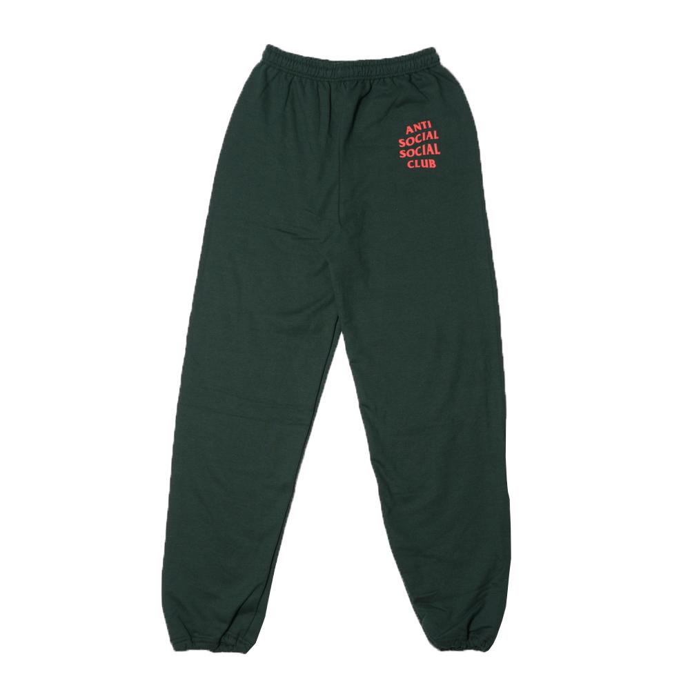 69711c702e5d Anti Social Social Club ASSC 2017AW Sweat Pants Green antisocial social club  sweat shirt underwear green present gift