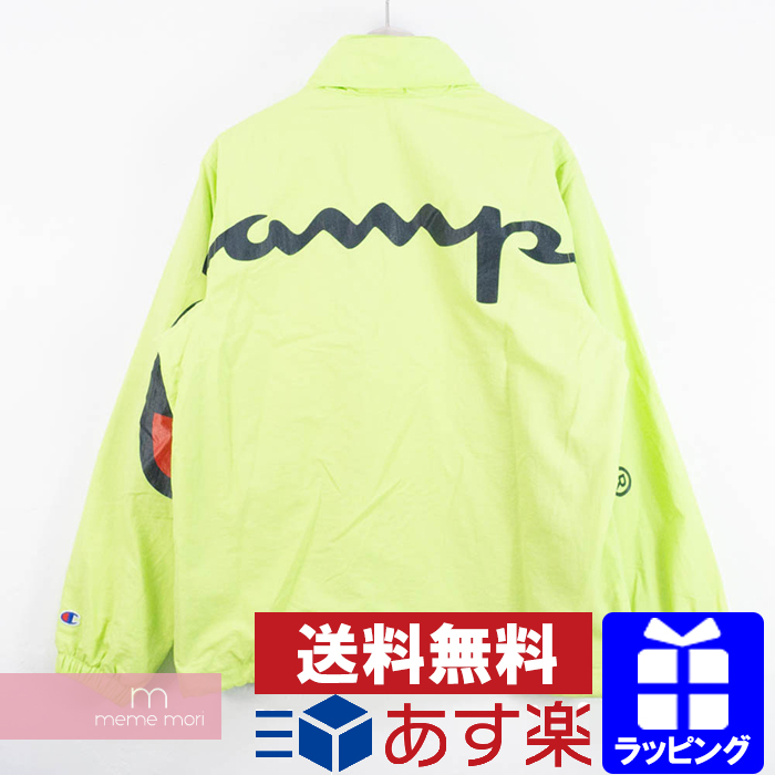 72393220b Supreme X Champion 2018SS Track Jacket シュプリーム X champion truck jacket lime  size M present gift