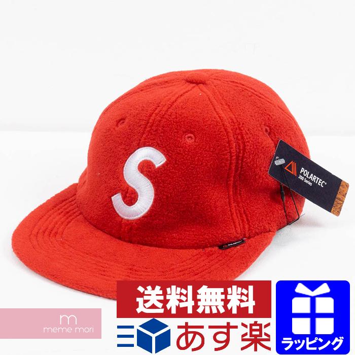 Supreme 2018AW Polartec S Logo 6-Pane シュプリームポーラテック S logo cap red Christmas  gift present 2b4f3e80cac