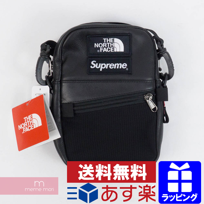 99cb6a578 Supreme X THE NORTH FACE 2018AW Leather Shoulder Bag シュプリーム X North Face  leather shoulder bag black present gift