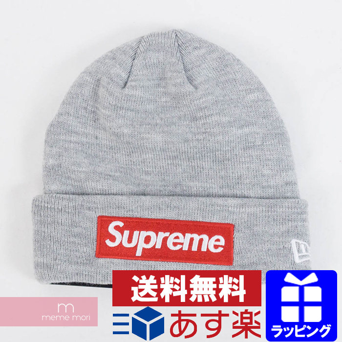 378faf5788e68 USED SELECT SHOP meme mori  Supreme X New Era 2018AW Box Logo Beanie ...