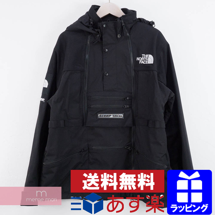 Supreme X The North Face 2017ss Steep Tech Jacket シュプリーム Technical Center Mountain Black Size M Present Gift