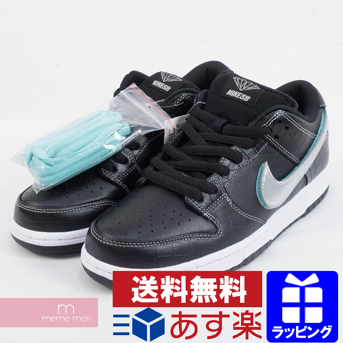 b30dadc88970 NIKE SB X DIAMOND SUPPLY.CO 2018AW DUNK LOW PRO OG QS TIFFANY BV1310-001 Nike  SB X diamond supply dunk low sneakers Tiffany black size US9(27cm)