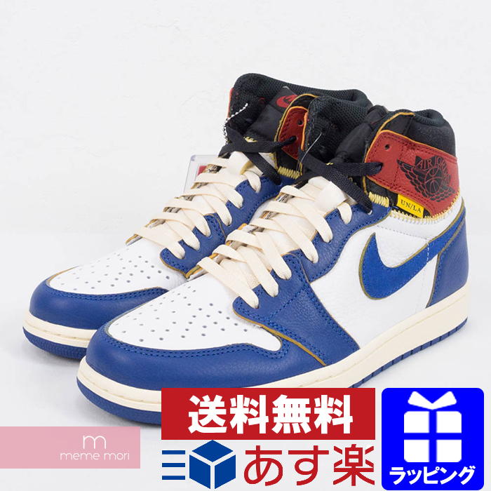 cf96163da038 NIKE X UNION AIR JORDAN 1 RETRO HI NRG UN BV1300-146 Nike X union Air Jordan  1 nostalgic high sneakers blue size US9(27cm) present gift