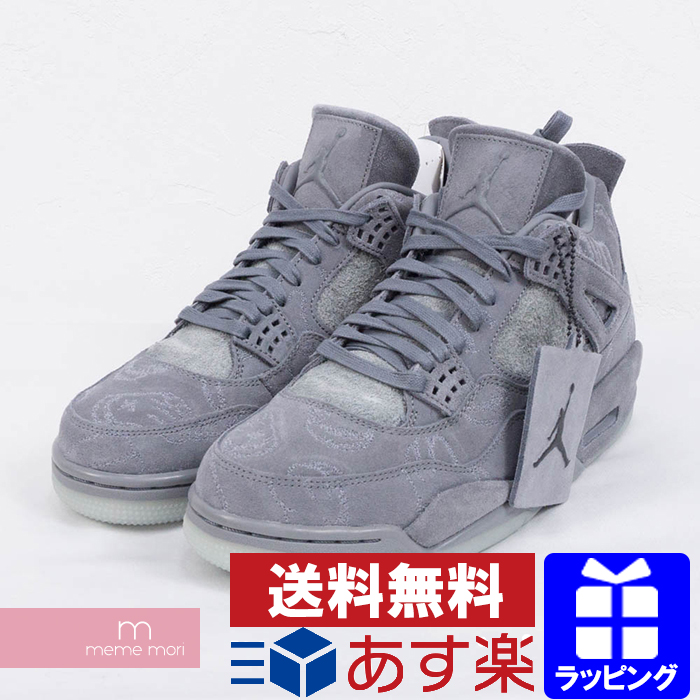 outlet store 63dd9 fe291 NIKE X KAWS AIR JORDAN 4 RETRO KAWS 930,155-003 Nike X cows Air Jordan 4  nostalgic sneakers gray size US9.5(27.5cm) present gift