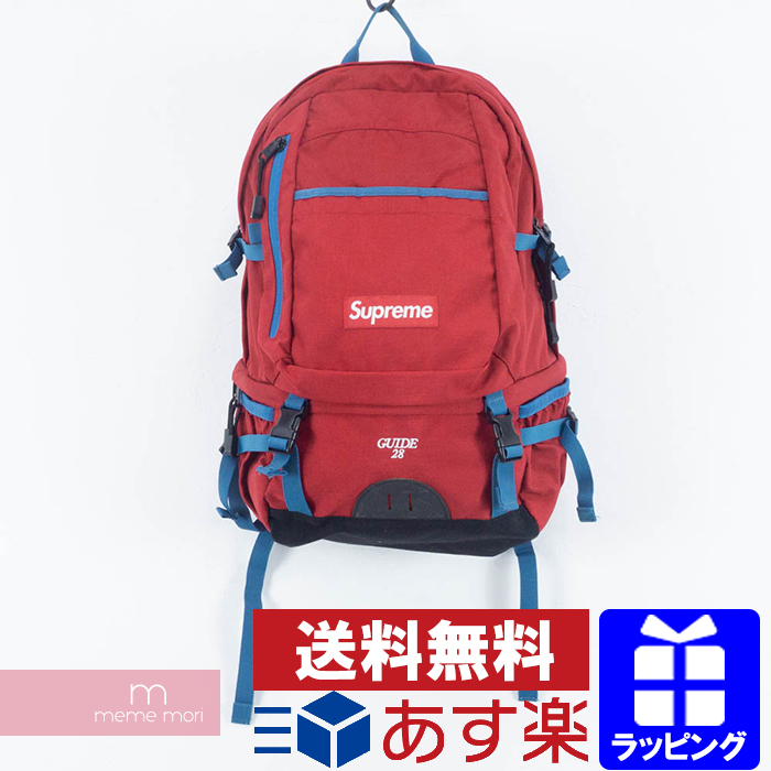 Supreme 2010SS GUIDE28 Backpack シュプリーム ガイド28バックパック リュック レッド プレゼント ギフト【中古-B】
