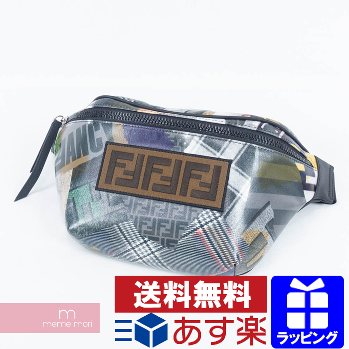 ba5ea9018c0a FENDI 2018AW Multi Print Belt Bag Fendi multi-print belt bag shoulder body  bag bum-bag porch multicolored present gift