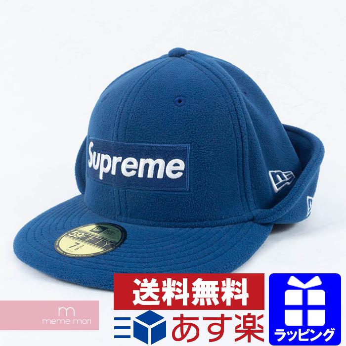 Supreme×New Era 2017AW Ear Flap New Era Polartec Cap シュプリーム×ニューエラ イヤーフラップニューエラポーラテックキャップ フリース ネイビー サイズ7 3/8(58.7cm)【200513】【新古品】