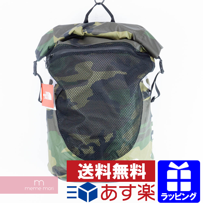 Supreme×THE NORTH FACE 2017SS Waterproof Backpack シュプリーム×ザノースフェイス ウォータープルーフバックパック リュック カモ サイズ34L プレゼント ギフト【190518】【新古品】