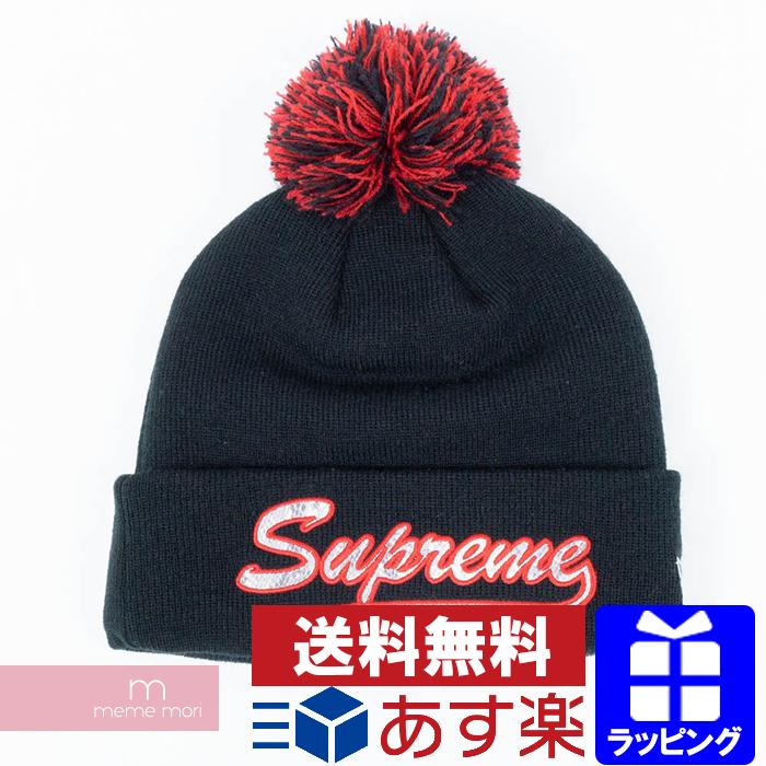 b69f6503f72 Supreme X NEW ERA 2017AW Snake Script Beanie シュプリームスネークスクリプトビーニーニット hat hat  black present gift