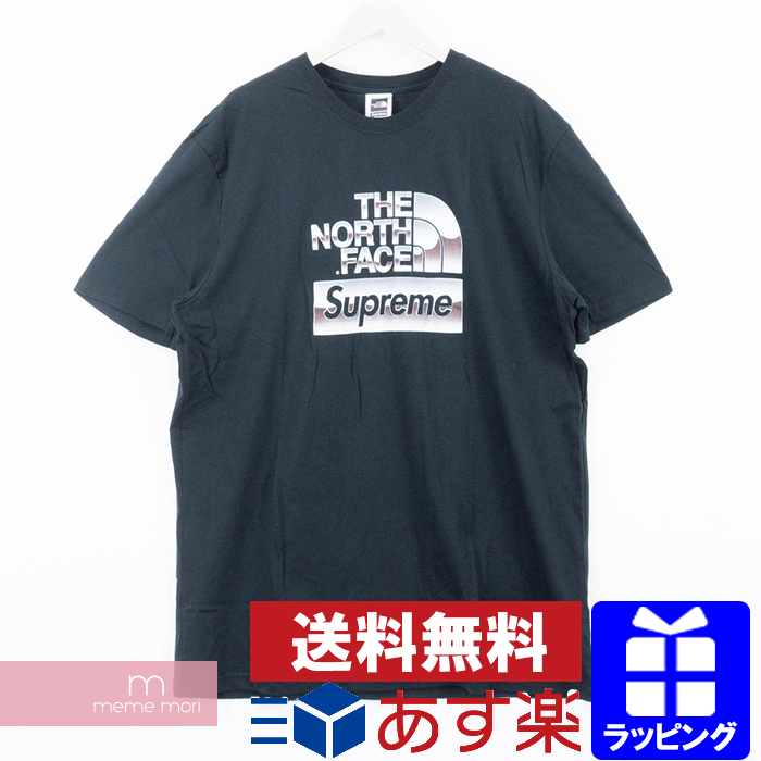 7099e21a4 Supreme X THE NORTH FACE 2018SS Metallic Logo Tee シュプリーム X North Face  metallic logo T-shirt black size M present gift