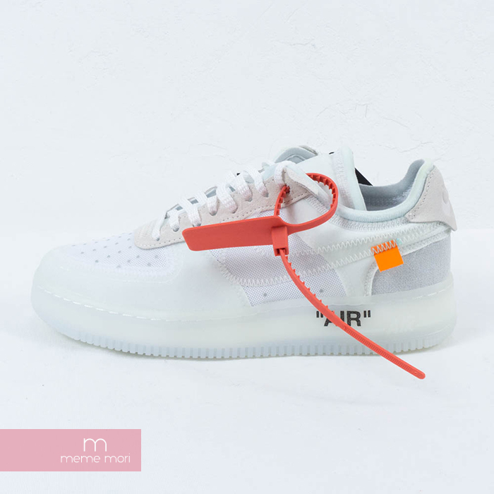 detailed look da619 00bfd OFF-WHITE X NIKE 2018 The 10