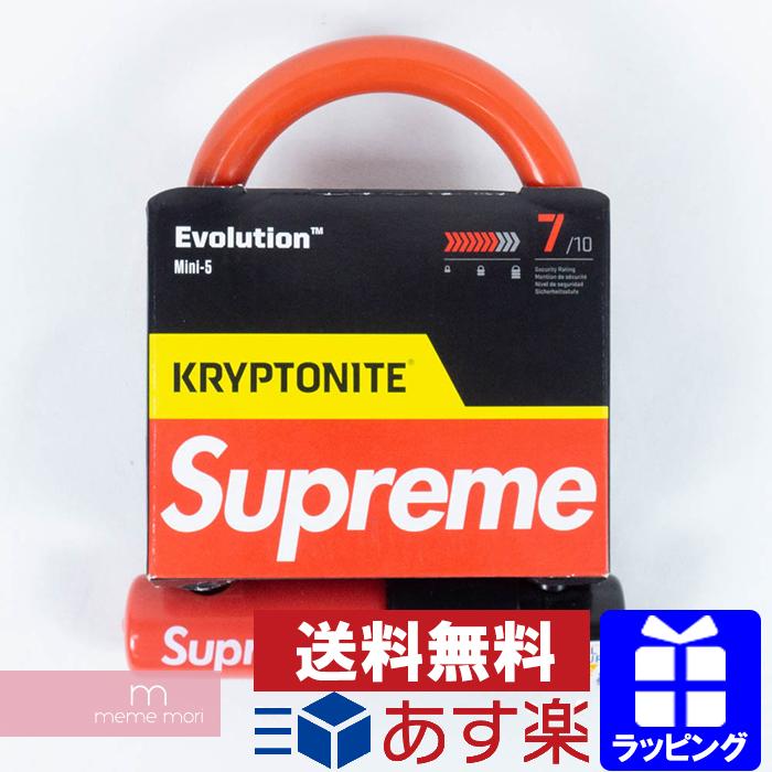 Supreme 2015SS Kryptonite U-Lock シュプリーム クリプトナイトUロック 自転車 鍵 レッド プレゼント ギフト【190122】