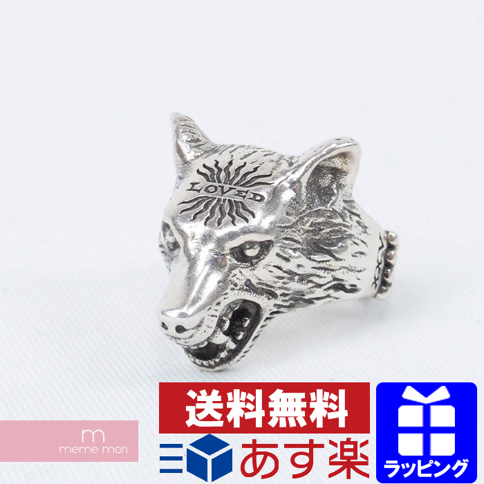 fd88801ca GUCCI 2018 ANGER FOREST Wolf Head Ring Gucci wolf head ring ring  accessories silver size 19 ...
