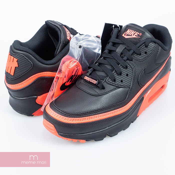 NIKE X UNDEFEATED AIR MAX 90 CJ7197 003 BlackSolar Red Nike X Andy fee Ted Air Max 90 sneakers black X red present gift