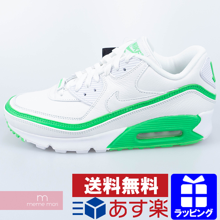 NIKE X UNDEFEATED AIR MAX 90 CJ7197 104 WhiteGreen Spark Nike X Andy fee Ted Air Max 90 sneakers white X green present gift