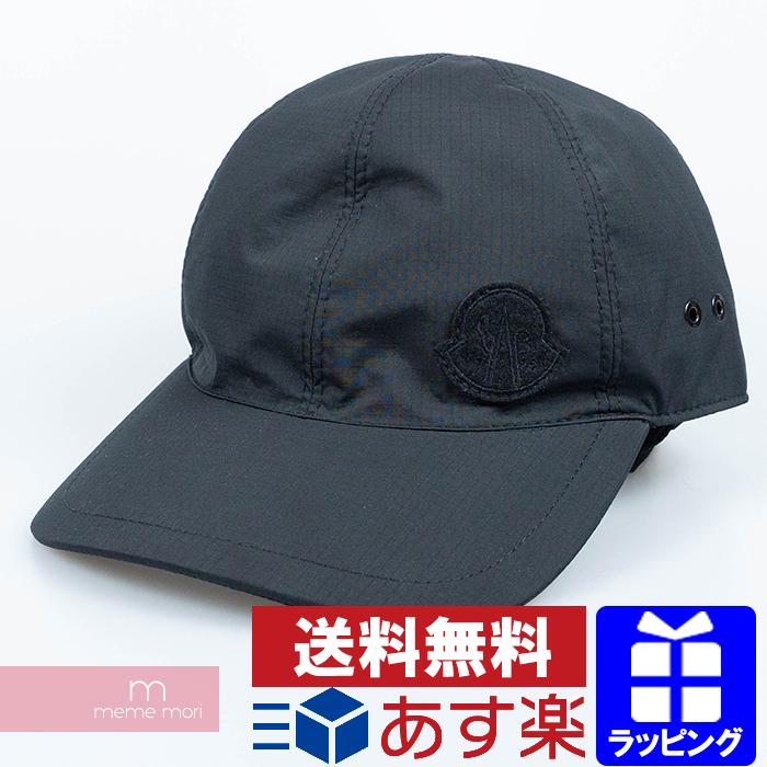 Moncler Genius×1017 ALYX 9SM 2019AW Baseball Cap モンクレールジーニアス×アリクス ベースボールキャップ 帽子 ブラック プレゼント ギフト【200119】【新古品】【me01】