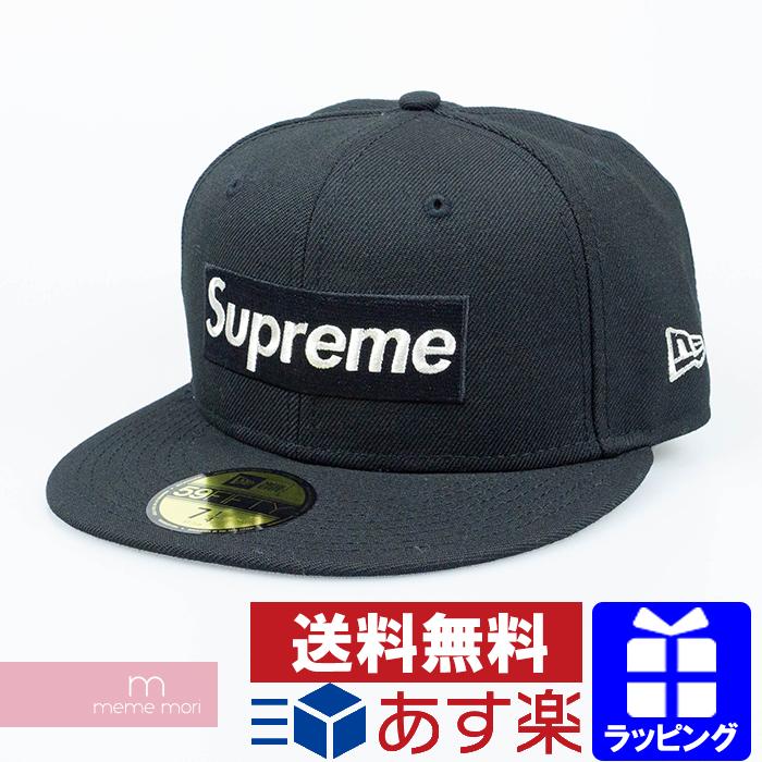 Supreme×New Era 2020SS $1M Metallic Box Logo New Era シュプリーム×ニューエラ 1ミリオンダラーメタリックボックスロゴニューエラキャップ 帽子 ブラック サイズ7 3/8(58.7cm)【200531】【新古品】
