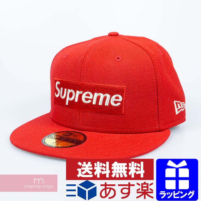 Supreme×New Era 2020SS $1M Metallic Box Logo New Era シュプリーム×ニューエラ ワンミリオンダラーメタリックボックスロゴニューエラキャップ 帽子 レッド サイズ7 3/8(58.7cm)【200320】【新古品】