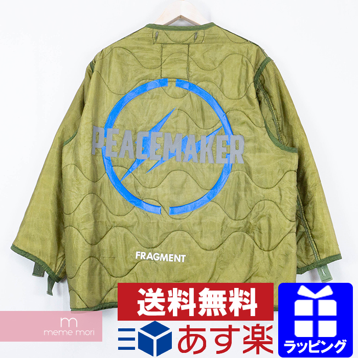 【全品15%OFF&クーポン!】OAMC(Over All Master Cloth)×Fragment design 2020SS Liner Green オーエーエムシー×フラグメント ライナーグリーン キルティングジャケット Peacemaker ピースメーカー カーキオリーブ サイズS【200227】【me04】