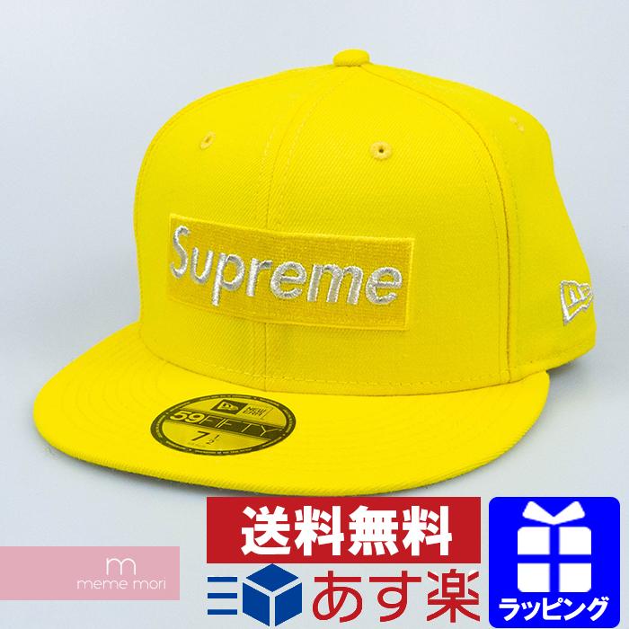 Supreme×New Era 2020SS $1M Metallic Box Logo New Era シュプリーム×ニューエラ ワンミリオンダラーメタリックボックスロゴニューエラキャップ 帽子 イエロー サイズ7 1/2(59.6cm) 【200319】【新古品】