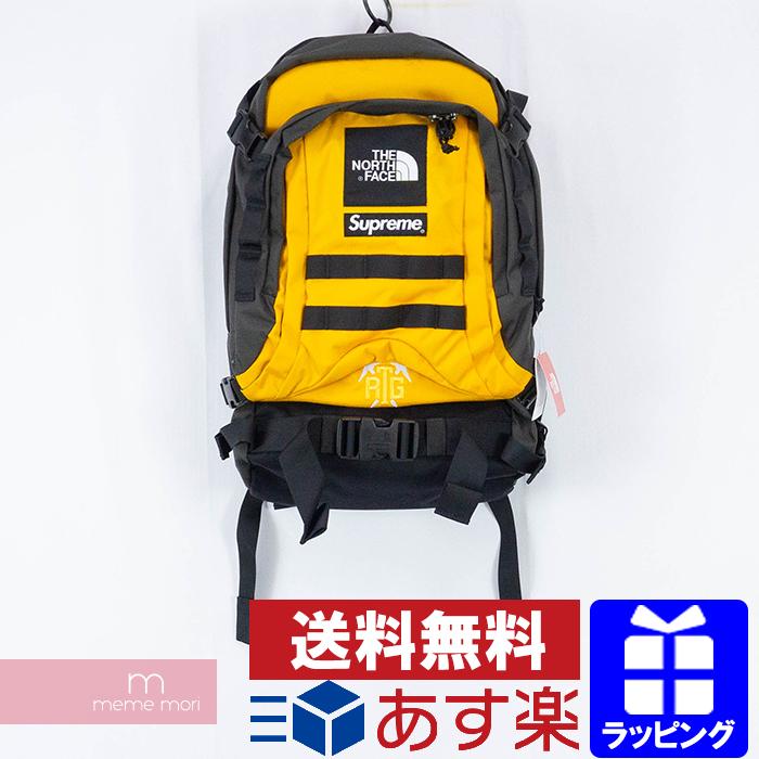 Supreme×THE NORTH FACE 2020SS RTG Backpack シュプリーム×ノースフェイス RTGバックパック デイパック リュック バッグ サミットゴールド イエロー×チャコール【200406】【新古品】