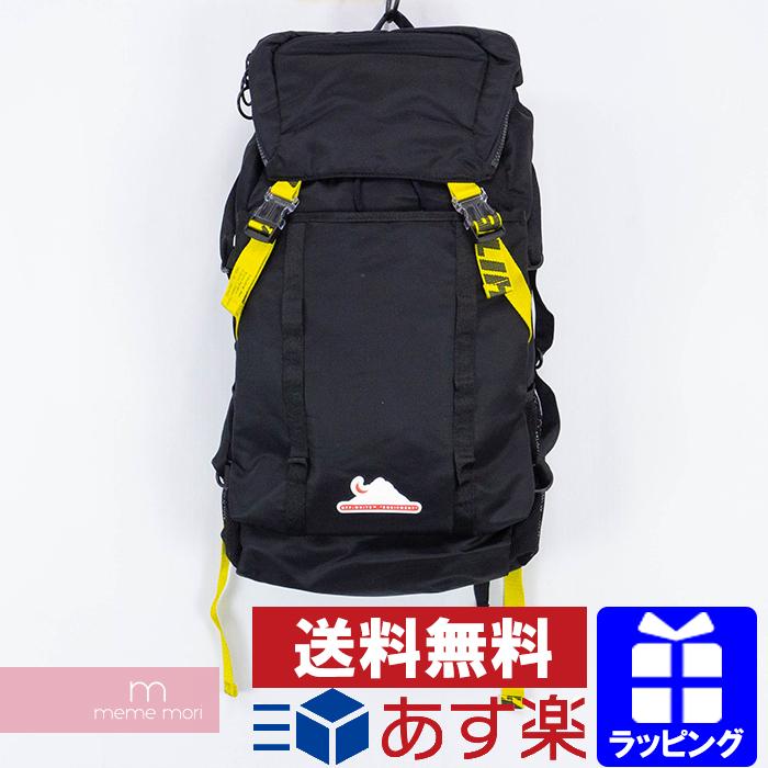 OFF-WHITE 2020SS Equipment Backpack OMKN001R20E48001 オフホワイト エキップメントバックパック リュック バッグ ブラック 【200423】【新古品】