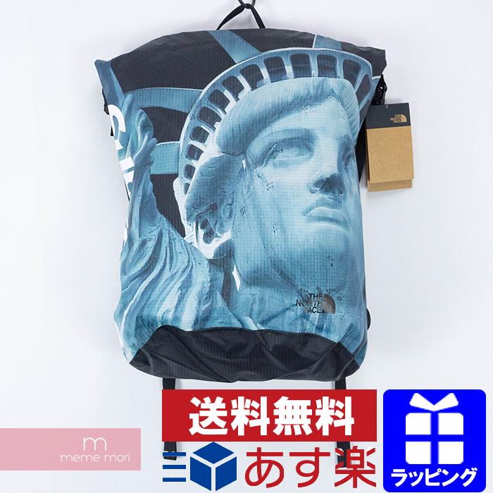 Supreme×THE NORTH FACE 2019AW Waterproof Backpack シュプリーム×ノースフェイス スタチューオブリバティ ウォータープルーフバックパック リュック バッグ 自由の女神 ブラック 【200427】【新古品】