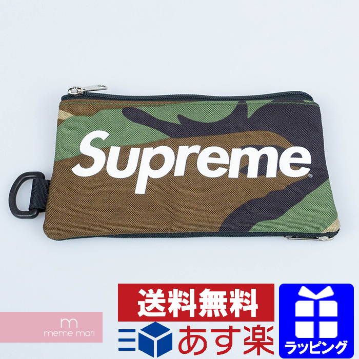 Supreme 2016AW Mobile Pouch シュプリーム モバイルポーチ 迷彩 カモフラ柄 カーキ 【200427】【中古-A】【me04】