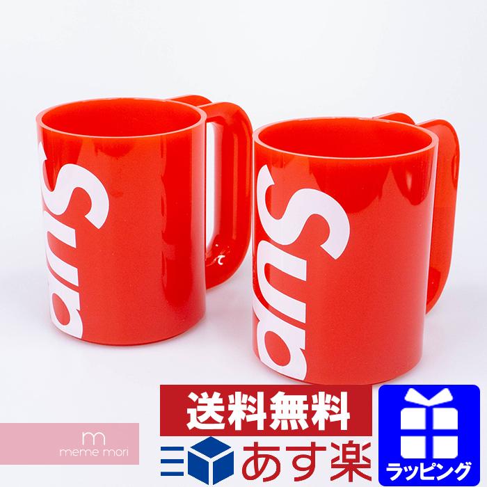 格安新品  【セール】Supreme 2020SS Heller Mugs Set of 2 シュプリーム ハラーマグカップ 2つセット コップ 食器 雑貨 レッド 【200430】【新古品】, 択捉郡 31806efc