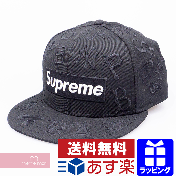 Supreme×New Era×MLB 2020SS MLB New Era Cap シュプリーム×ニューエラ×MLB ボックスロゴニューエラキャップ 帽子 ブラック サイズ7 1/4 (57.7cm)【200501】【新古品】