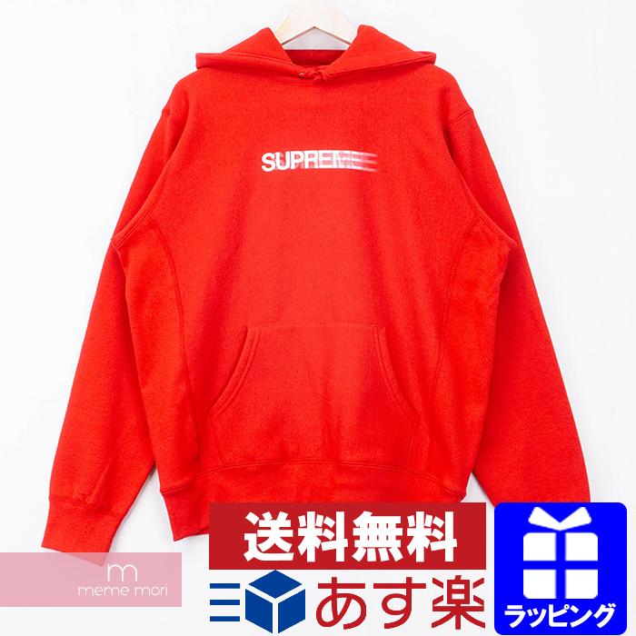 【全品15%OFF&クーポン!】Supreme 2020SS Motion Logo Hooded Sweatshirt シュプリーム モーションロゴフーデッドスウェットシャツ プルオーバーパーカー レッド サイズM 【200506】【新古品】