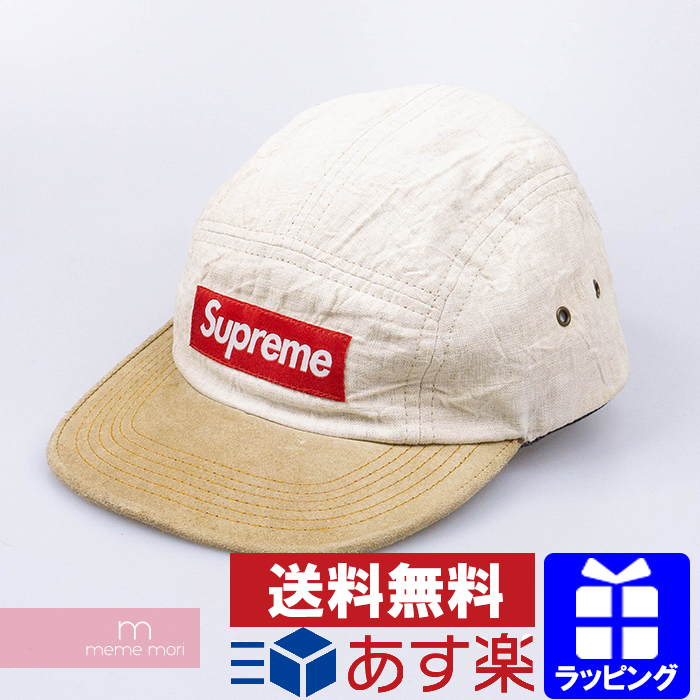 Supreme 2011SS Safari Camp Cap シュプリーム サファリキャンプキャップ スエード 帽子 ベージュ 【200516】【中古-C】
